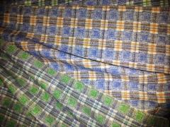One-coloured lining cotton thick flannelette