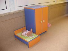 Furniture for kindergartens, creches