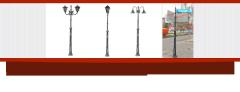 Стълб за парково и улично осветление