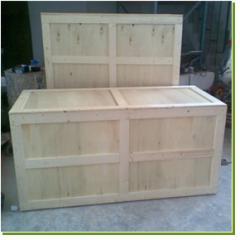 Дървена опаковка, изработена от шперплат и дървени