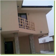 Декоративни дървени решетки за балкон