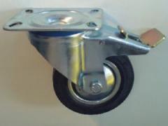 Индустриално ходово колело с планка за закрепване