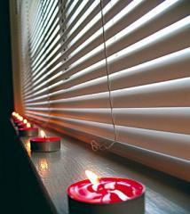 Jalousie for plastic windows