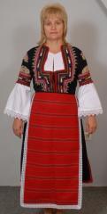 Женски костюми, Кюстендилски женски костюми