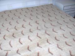 Покривки ръчна изработка от естествени материали