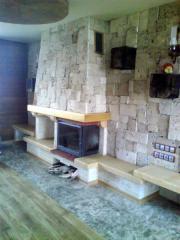 Изработка и монтаж на камини и вътрешни облицовки