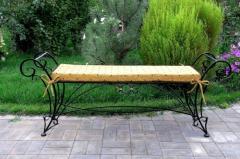 Пейки градински от ковано желязо