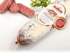 Луканка Старобългарска. Телешко и свинско месо.