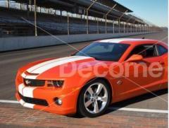 Стикер - FF0407, за декорация на автомобили,