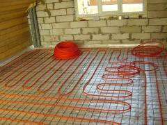 Подово отопление-електрическо и водно