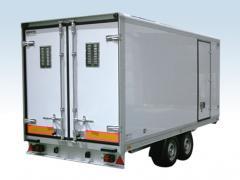Ремаркета - фургони хладилни за температури от 0°C