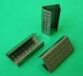 Метални скоби (клипси) за пластмасов чембер