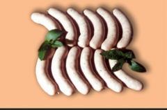 Парен структурен колбас, неопушен,Братвурст
