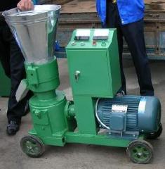 Granulators sawdust