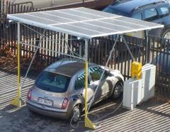 Фотоволтаична зарядна станция