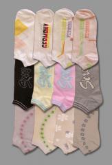 Елегантни дамски чорапи - тип терлик /с картинка/