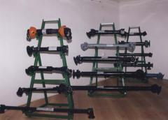 Cardan shafts (axles)