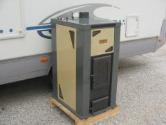 Пелетна камина Сизоматик с термоагрегат за водно