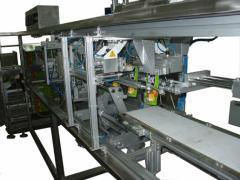 Дойпак хоризонтална пакетираща машина за течни