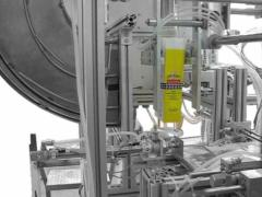 Линия за дозиране и запечатване на брашно