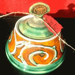 """Захарница авторска """"Спирали и"""