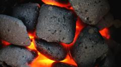 Briquettes made of coal dust