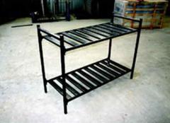 Разглобяеми метални двуетажни легла