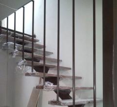 Стълба метална - носеща греда