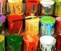 Latex based paints