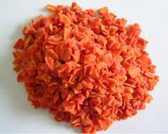 Морков сушен