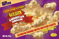Микровълнови пуканки American Dream - Златни