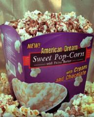 Микровълнови пуканки  American Dream - Сладки със