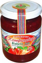 Диабетични конфитюри  Ягоди