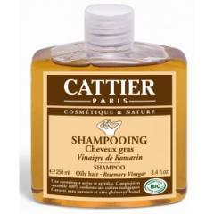 Шампоан за мазна коса с оцет от розмарин- Cattier
