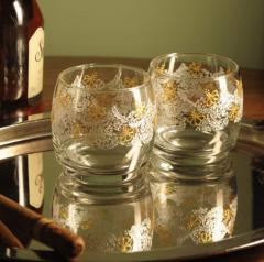 Ръчно рисувани чаши за уиски