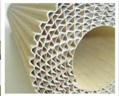 Double layer corrugated cardboard