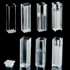 Cylinders, beakers, measuring flasks, test tubes