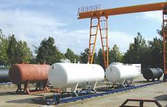 Наземни резервоари за газоснабдителни станции