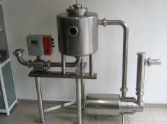 Lines of sour-milk production manufacture