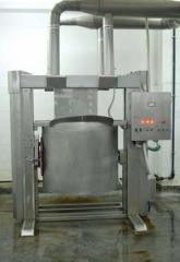 Machines for the overturning of the block-form for