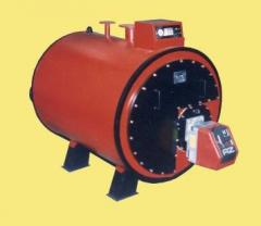Boilers heating water-heating