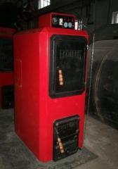Steam boilers of low pressure