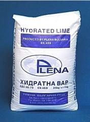 Asbestos hydrated lime