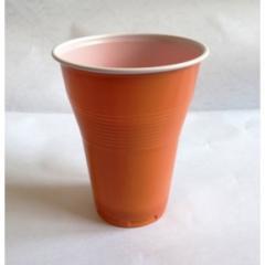 Пластмасови чаши за кафеавтомат (кафяви) - 100бр.