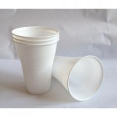 Пластмасови чаши за кафеавтомат (бели) - 100бр.
