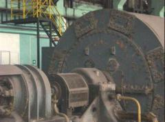 Парни турбогенератори 28.6 MW използвани