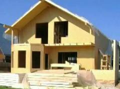 Енергоспестяващи сглобяеми къщи с дървени