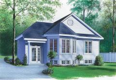 Къща 91 кв.м.; 2 спални; 1 баня