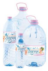 L'eau minéral