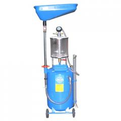 Equipment for the replacement of vacuum oil